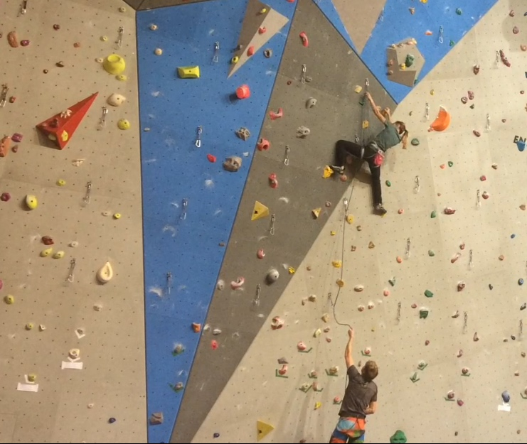 klatring på led utstyr