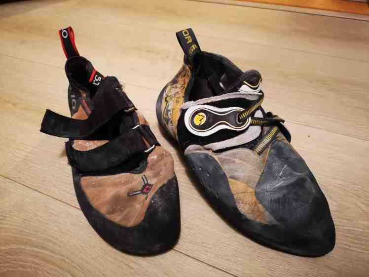 sko for klatring
